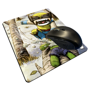 """Wolverine"" Meents Illustrated Authentic Mouse Pad"