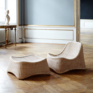 Chill Lounge Chair and Footstool