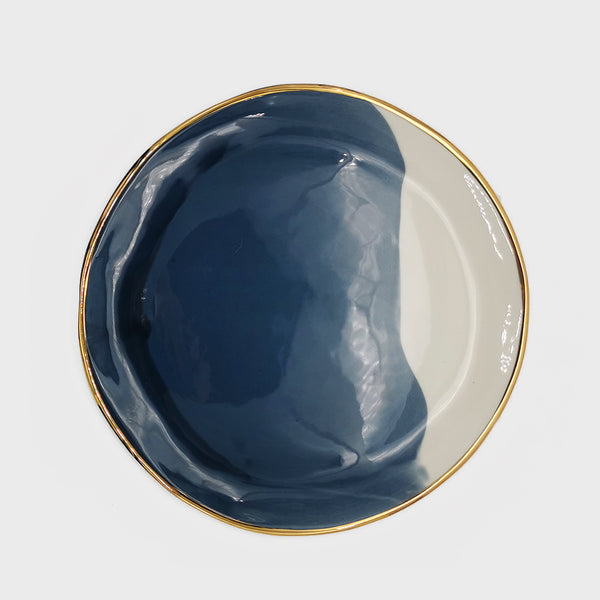 Gouache Midnight Blue Dinner Plate