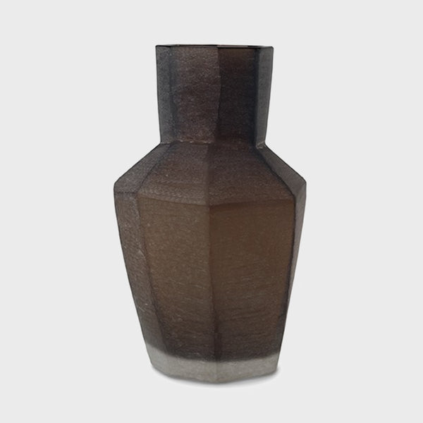 Kahulu Dark Brown M Vase