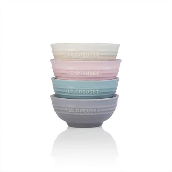 Set 4 Mini Bowls Calm Le Creuset - Flambée