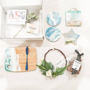 Ocean inspired Christmas Gift box