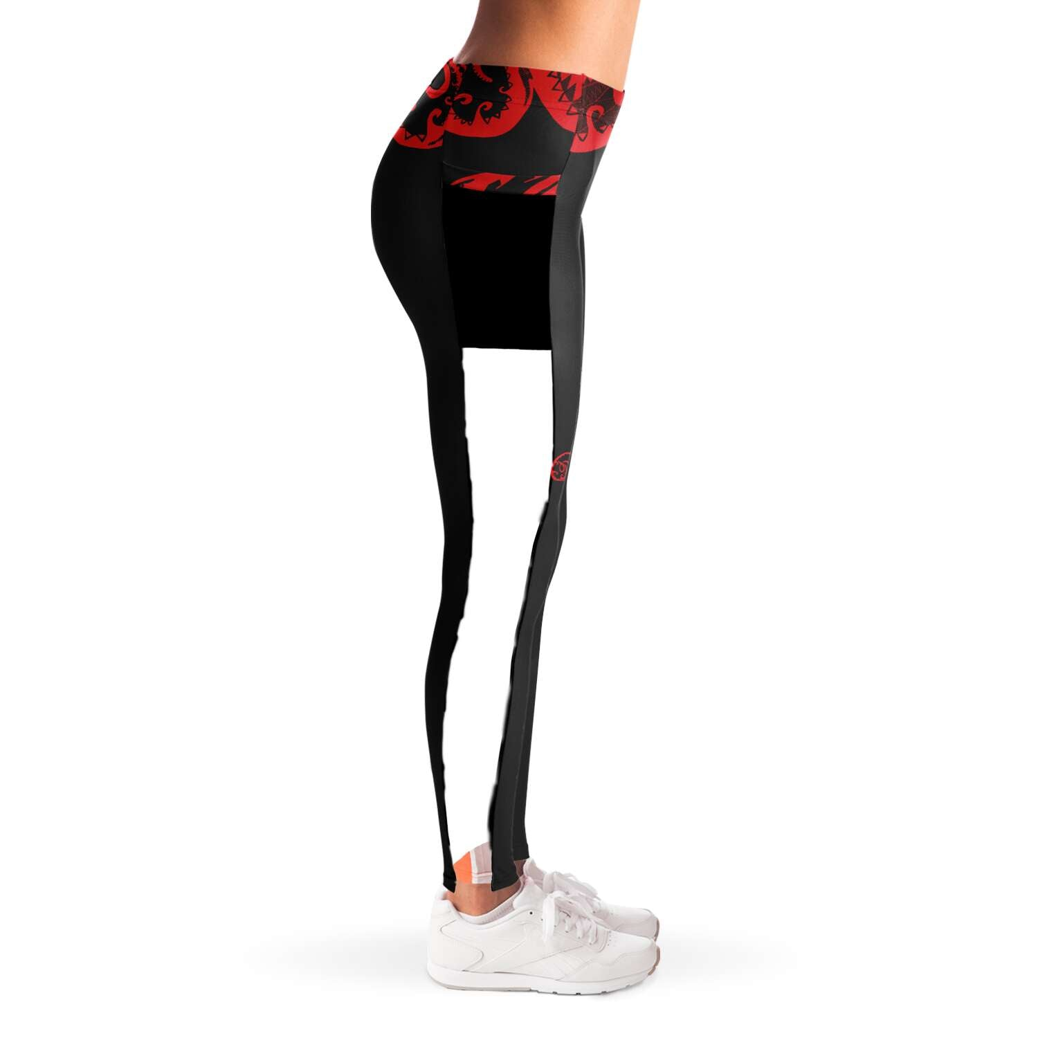Team Venom Mesh Leggings With Pockets XS-XL