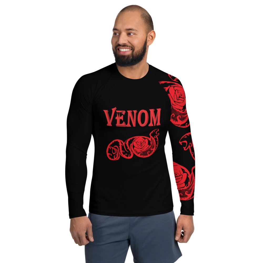 Team Venom Men's Rash Guard XS-XL