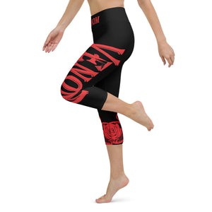 Team Venom Yoga Capri Leggings XS-XL