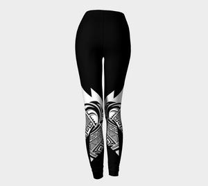 Compression Leggings XS-XL On A Mission Design by TINGS