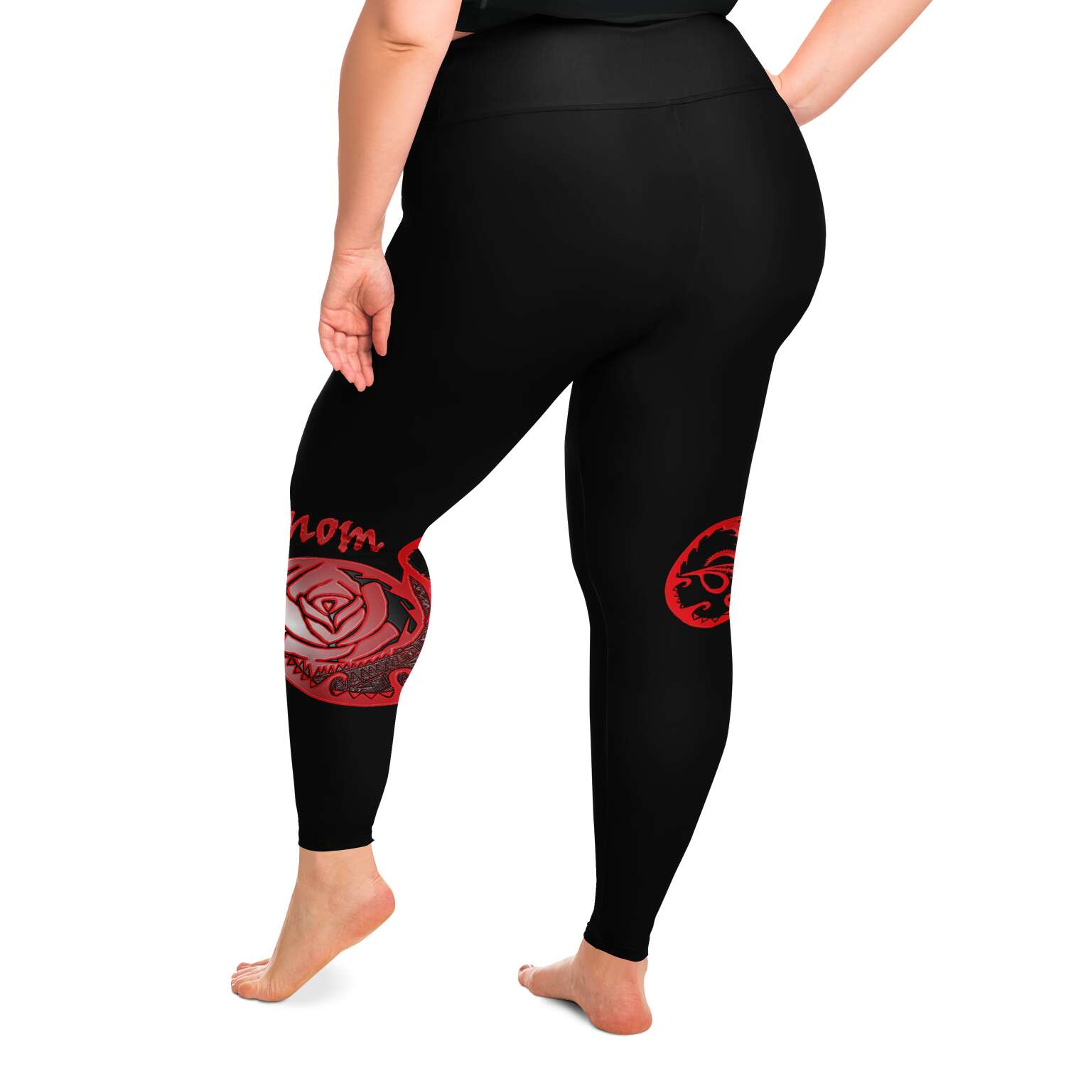 Team Venom Plus Size Leggings XS-6XL