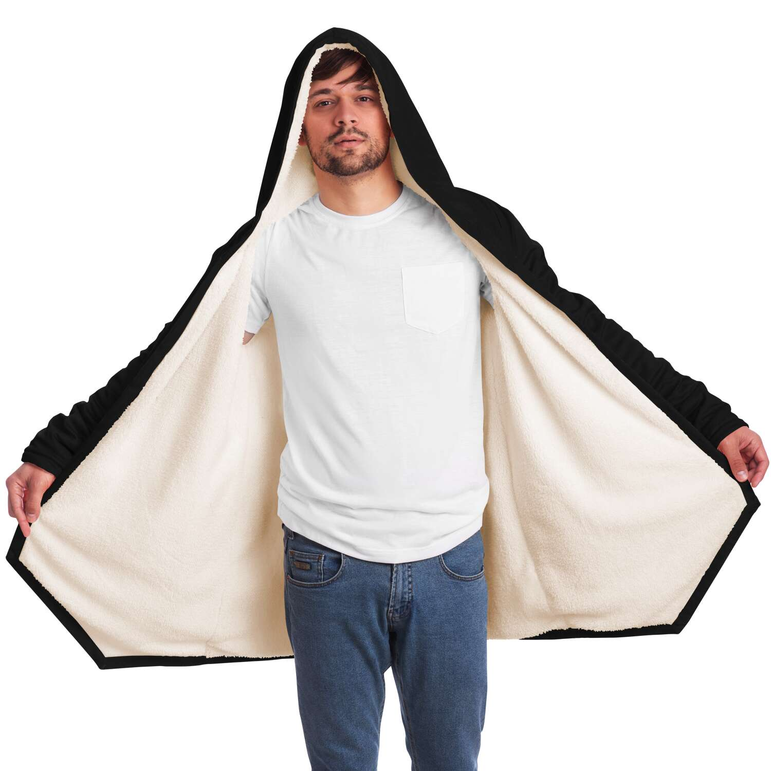 Team Venom Luxurious Fleece Lining Cloak XS-4XL
