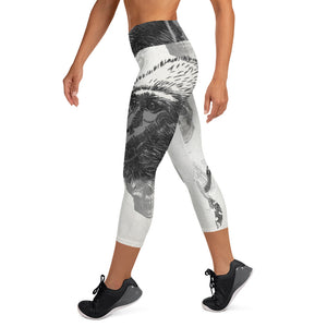 Monkey Business XS - XL Yoga Capris By TINGS