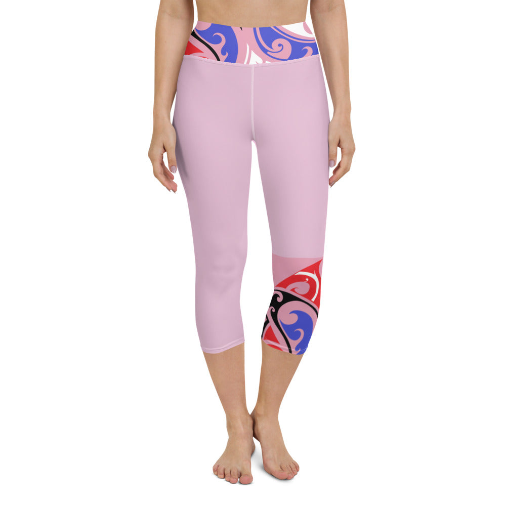Yoga Capri Leggings XS - XL Dazza Pride Design by Tings