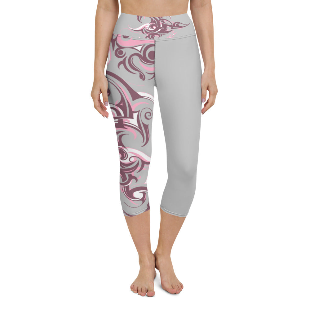 Yoga Capri Leggings XS-XL Dazza Spike Design by Tings