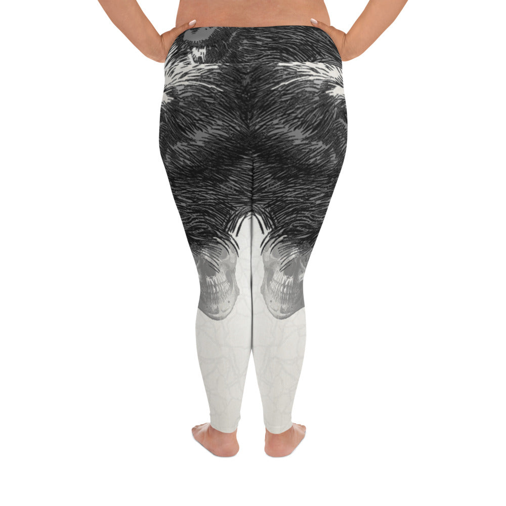 Monkey Business 2XL-6XL  Plus Size Yoga Leggings By Tings