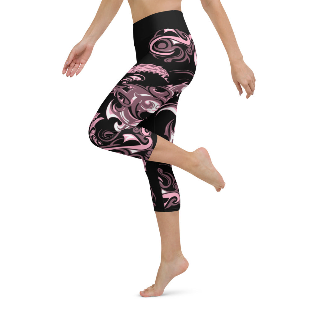 Yoga Capris Dazza Spike Design by Tings