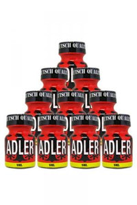 Pack 10 Poppers Adler 9 ml.