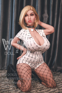 "Poupée sexuelle WM DOLL 155cm. (5'1"") L-Cup Head #361."