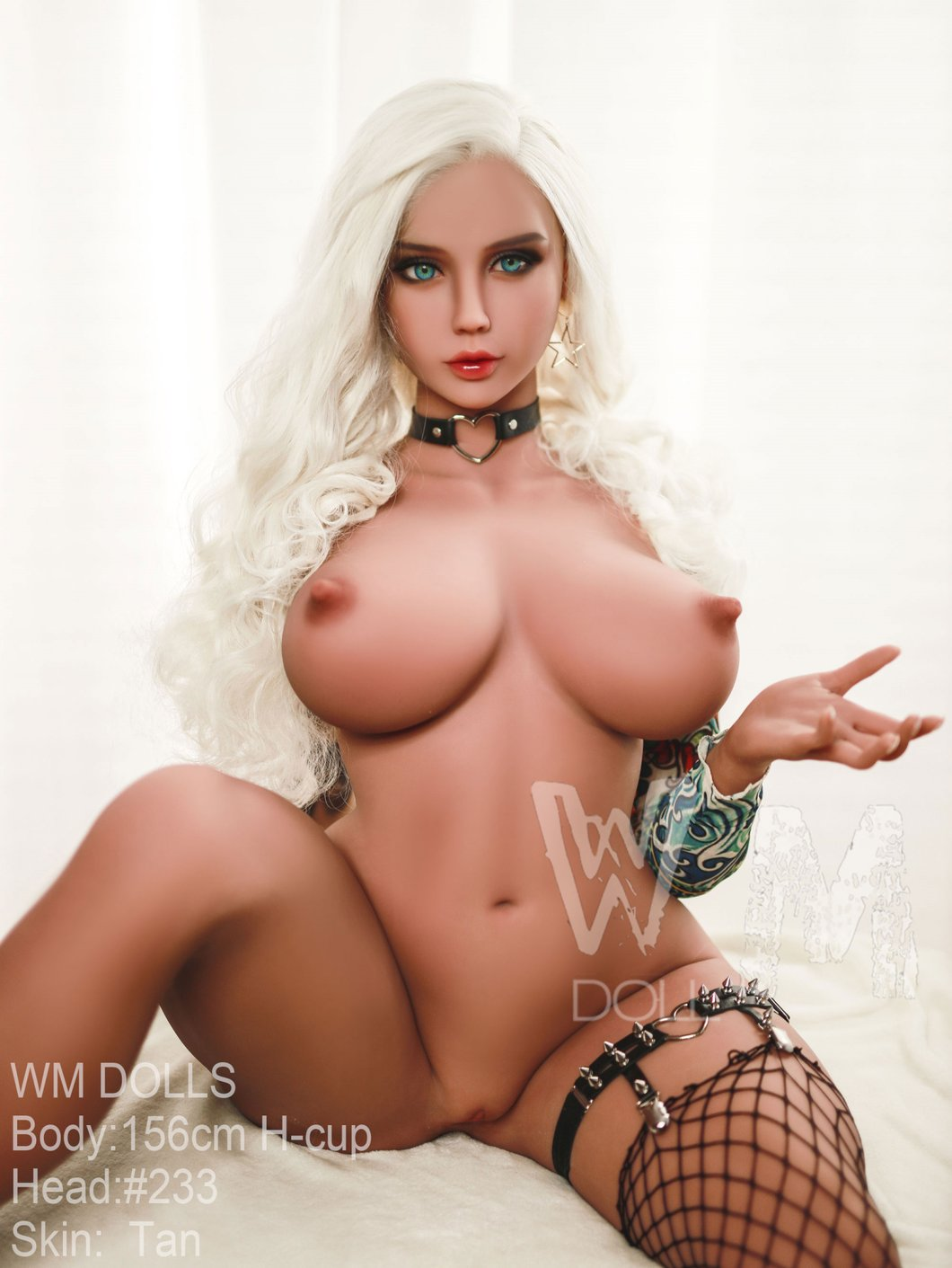 "Poupée sexuelle WM DOLL 156cm. (5'1"") H-Cup Head #233"