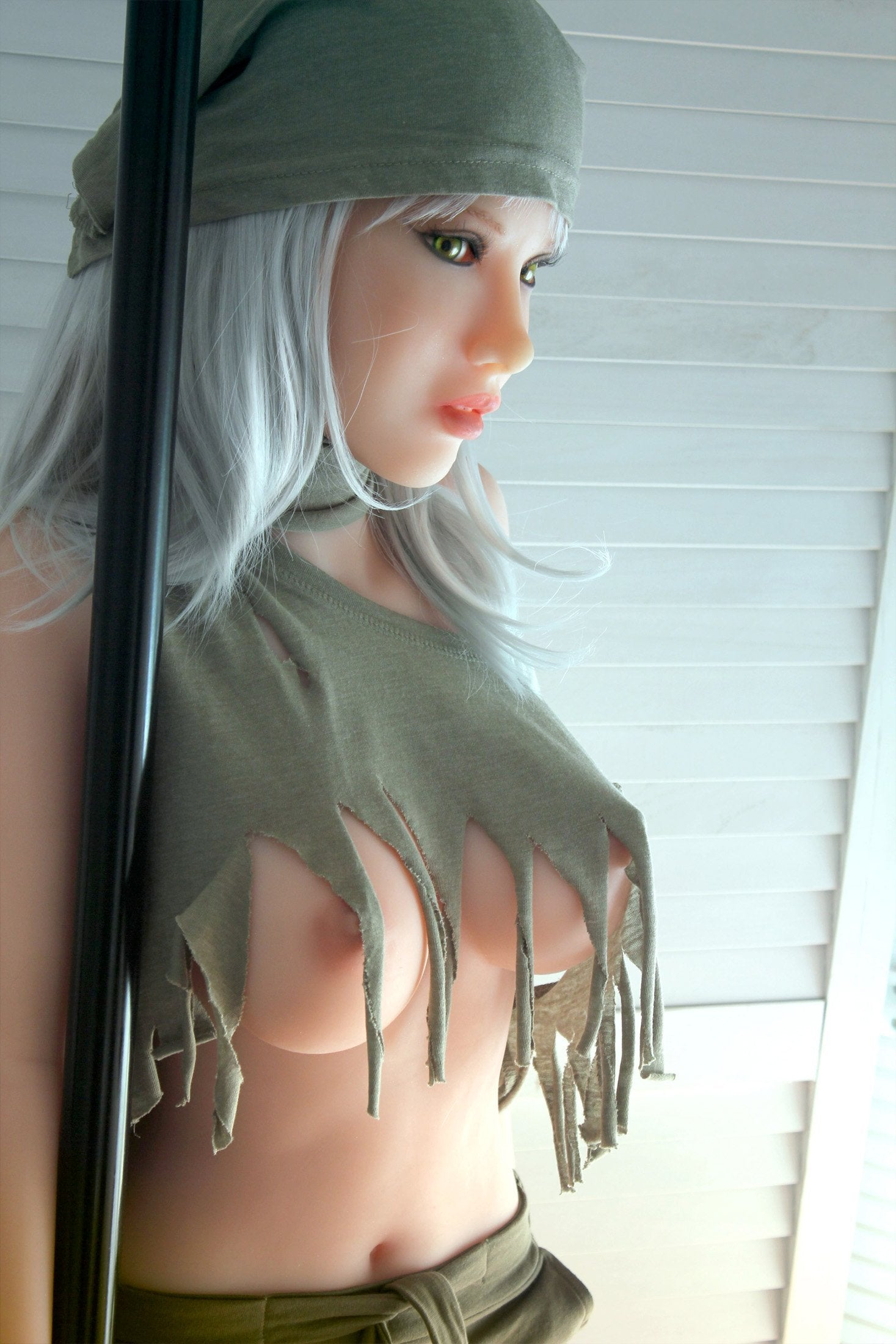 "Doll Forever 155cm. (5'1"") Flavia."