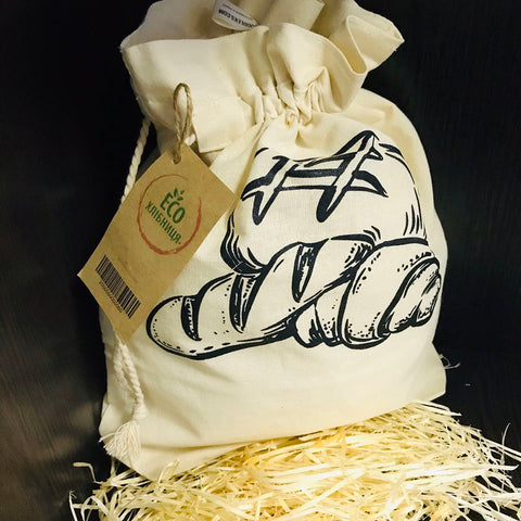 "Eco-bread bag ""Dairy"""