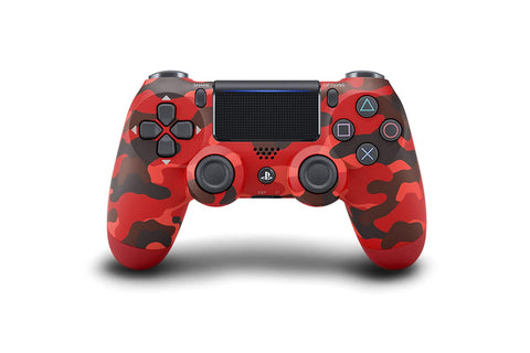 Sony - DualShock 4 Wireless Controller for Sony PlayStation 4 - Red Camouflage