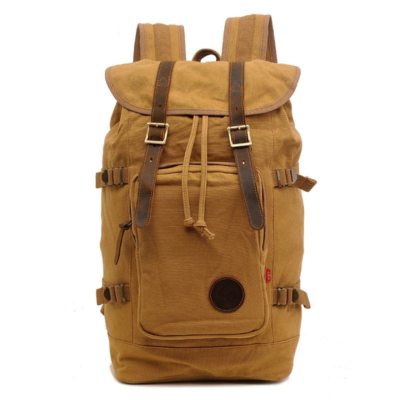 Vintage Multi-Functional Travel Large Backpack - Pack For Paradise