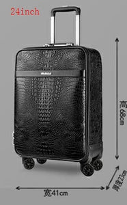 Luxury Travel Suitcase Set Spinner Luggage - Pack For Paradise