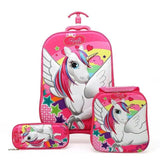 3PCS Kids Travel Suitcases - Pack For Paradise