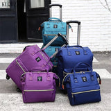 Women's Luggage Trolley/Suitcase Casual - Pack For Paradise