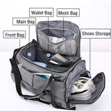 Men's Travel Shoulder Bag - Pack For Paradise