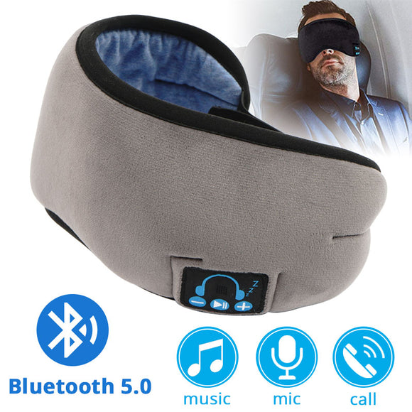 Bluetooth 5.0 Earphone Sleep Eye Mask Wireless - Pack For Paradise