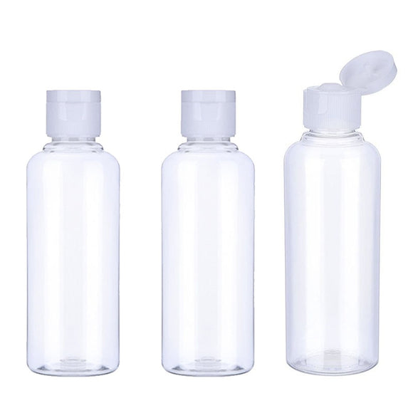 20Pcs 10/30/50/60/100ml Plastic Bottles - Pack For Paradise