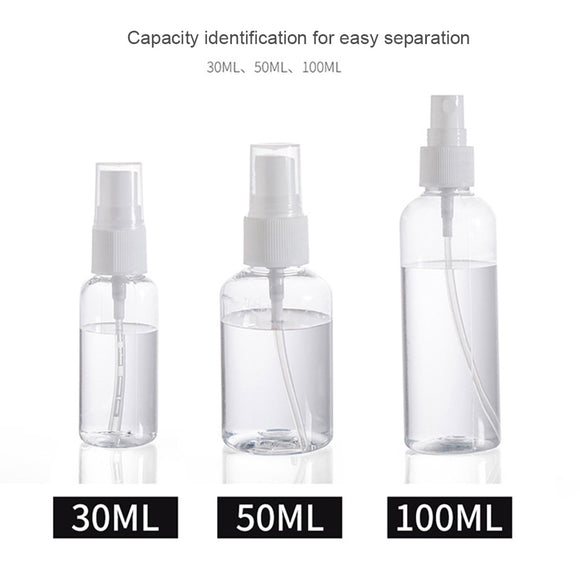 1PC 30ml/50ml/75ml Plastic Spray Bottle - Pack For Paradise