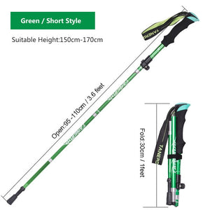 Outdoor Portable Collapsible Ultralight Trekking Poles - Pack For Paradise