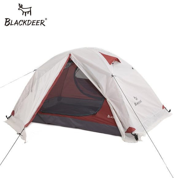 Blackdeer 2P Backpacking Tent  4 Season Tent With Snow Skirt Double Layer Waterproof - Pack For Paradise