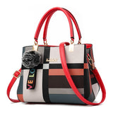 Casual Plaid Shoulder Bag/Crossbody Bags Leather - Pack For Paradise