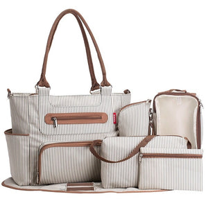 Diaper bag 7 piece set Tote - Pack For Paradise
