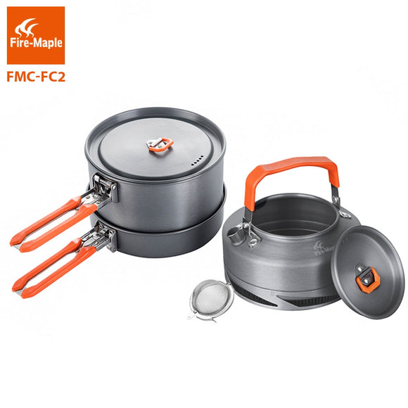 Fire Maple Camping Cookware Set - Pack For Paradise