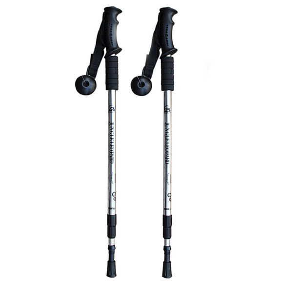 Trekking Poles Retractable Nordic Walking Sticks - Pack For Paradise