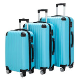 "3 Piece Set Suitcase Luggage Spinner Hardshell Lightweight TSA Lock 20""24""28"" - Pack For Paradise"