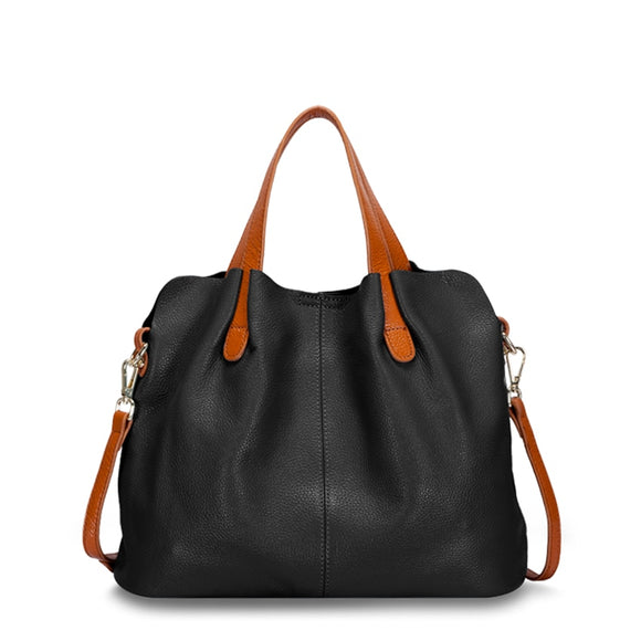 Leather Shoulder/Hand Bag Large - Pack For Paradise