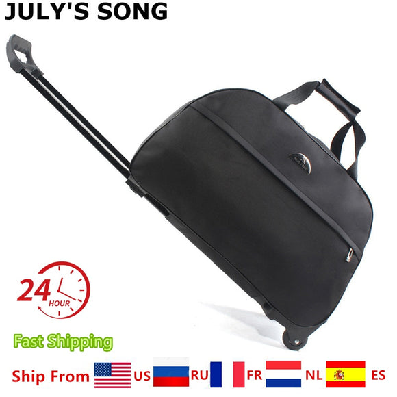 JULY'S SONG Travel Wheeled Duffle Bag - Pack For Paradise