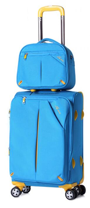 Oxford Spinner Suitcase/Travel Luggage Suitcase - Pack For Paradise