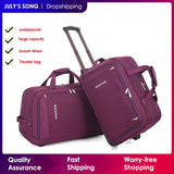 Women Trolley Luggage Bag Rolling Suitcase - Pack For Paradise
