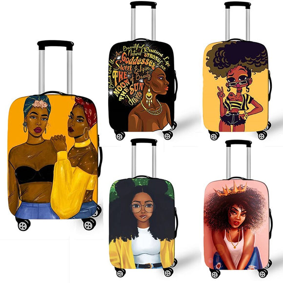 African Luggage Cover 18-32 inch - Pack For Paradise