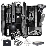 Camping Gear 15 in 1 Survival Kit - Pack For Paradise