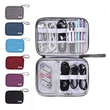 Digital Electronics Organizer Bag Waterproof  USB Cable Charger Power Battery - Pack For Paradise
