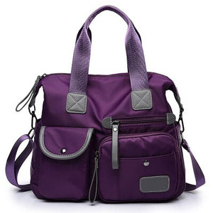 Multifunction Nylon Shoulder/Hand Bag - Pack For Paradise