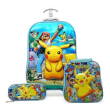 3PCS/set Child's Cartoon Trolley Case - Pack For Paradise