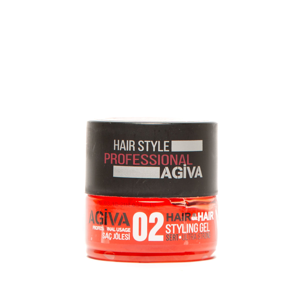 AGIVA HAIR STYLING GEL 02 WET LOOK ULTRA STRONG HOLD 200 ML