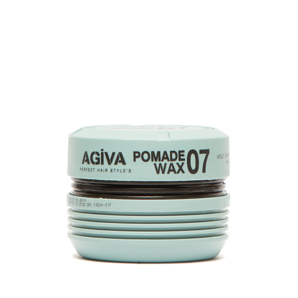 AGIVA HAIR STYLING POMADE WAX 07 SHINY FINISH STRONG HOLD 175 ML