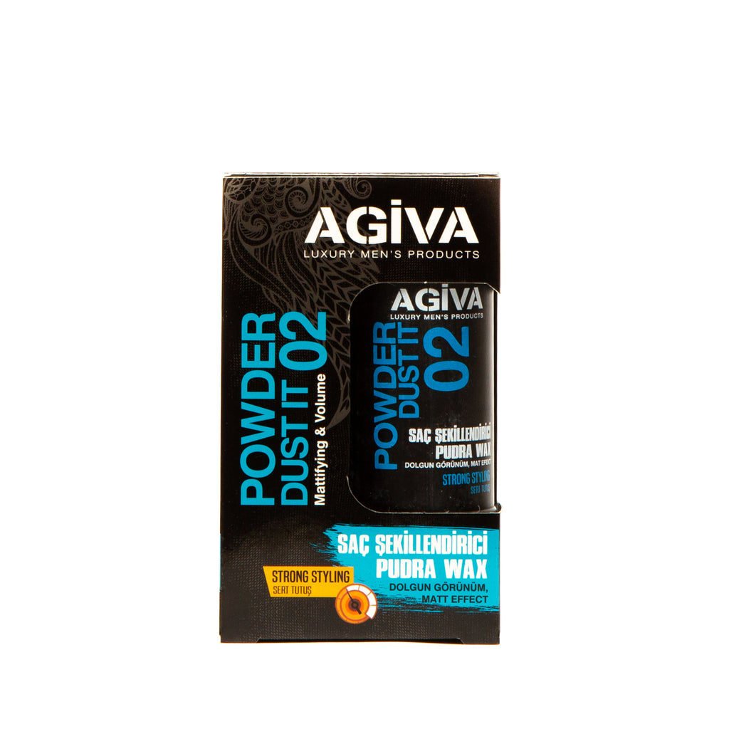 AGIVA HAIR STYLING POWDER WAX 02 STRONG HOLD 20 GR - Agiva Gel